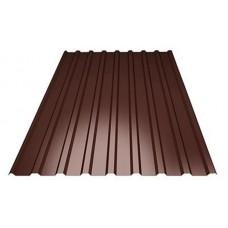Профлист 1.2х1.7м.( коричневый) RAL 8017
