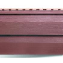 Сайдинг Т-1(красно-коричневый) 3.66х0.23 элит