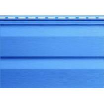 Сайдинг Т-1(синий металлик) 3.66х0.23 элит