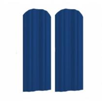 Штакетник М полукруглый 130 х 1500; Оц 0.40 (RAL 5005)