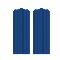 Штакетник М фигурный 130 х 1500; Оц 0.40 (RAL 5005)