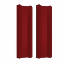 Штакетник М прямой 100 х 1800; Оц 0.40 (RAL 3011)
